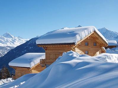 Chalet Fleur des Collons -  >on the left + Chalet Aurore